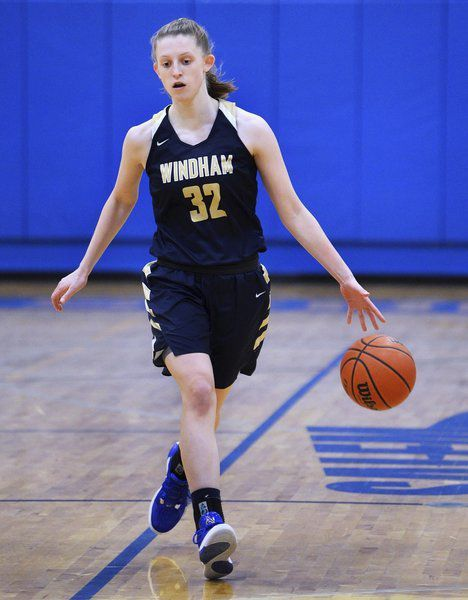 Scoring machine: Dempsey dominating the competition early on for Windham
