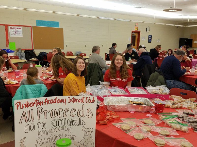 Derry Village Rotary Club club serves up pasta