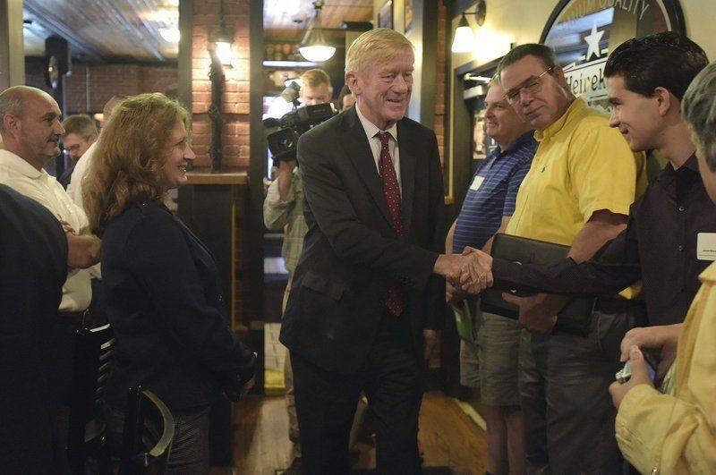 Bill Weld makes stop in Derry