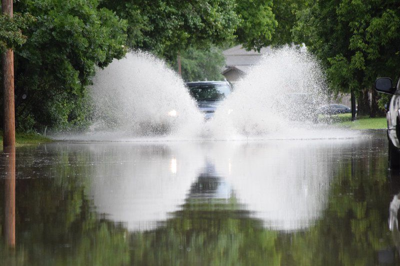 Norman experiencing record amounts of rainfall following storms