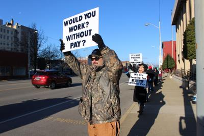 Ashland Prison Staff Protests
