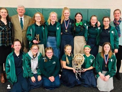Londonderry Christian School wins state tournament