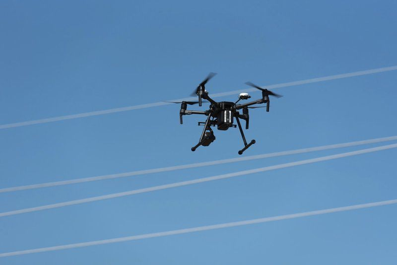 Eversource uses drones to inspect power lines from the air