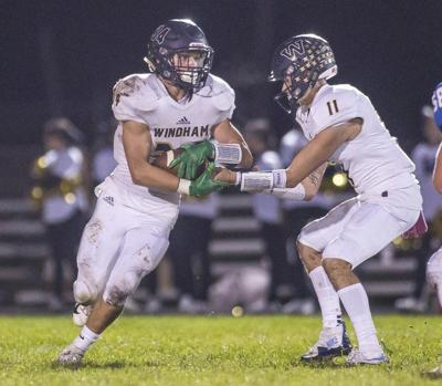 Windham struggles in loss to defending champ