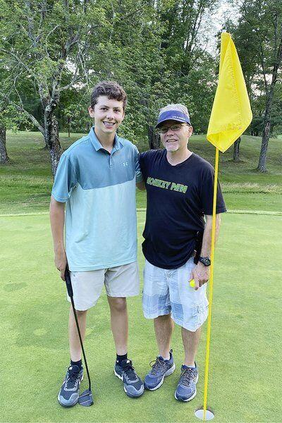 Londonderry golfer sinks first hole-in-one