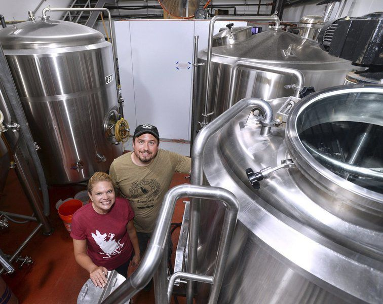 Rockingham Brewing Company shows off expansion in Derry