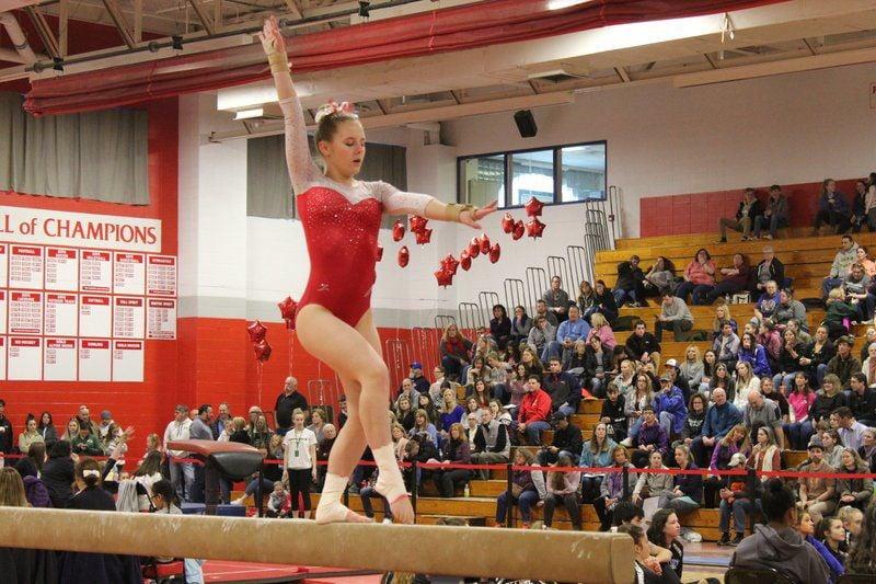 Three-peat: Pinkerton gymnastics surges to third straight Division 1 championship