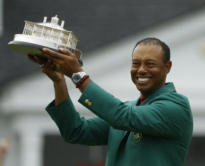 High School golf stars amazed by Woods' unlikely Masters victory
