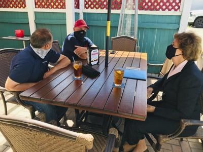 Shaheen meets with Derry business owners