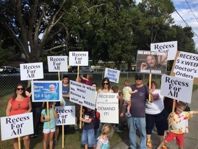 Recess protests