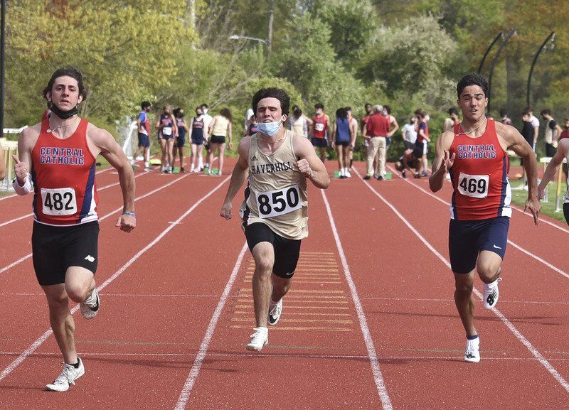 Central Catholic's Tritto excels at numerous events on track, in field