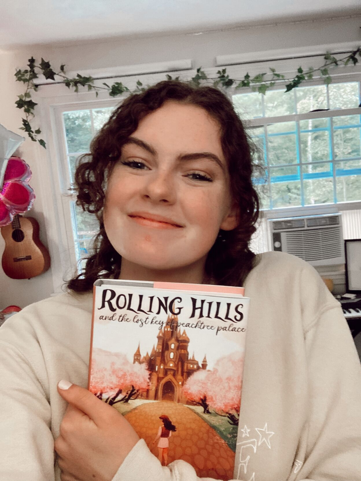 Londonderry student pens first novel