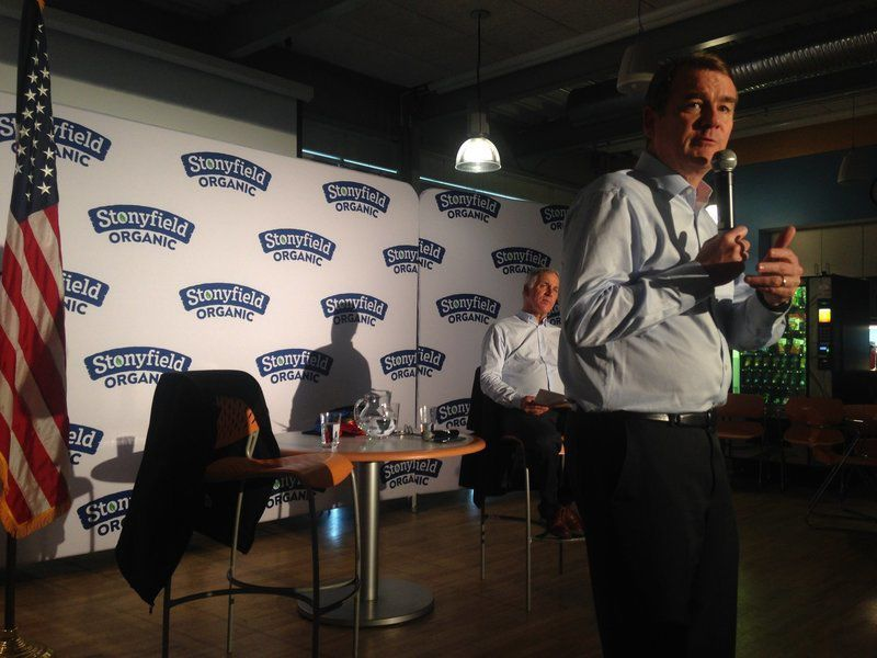Stonyfield hosts climate forum in Londonderry