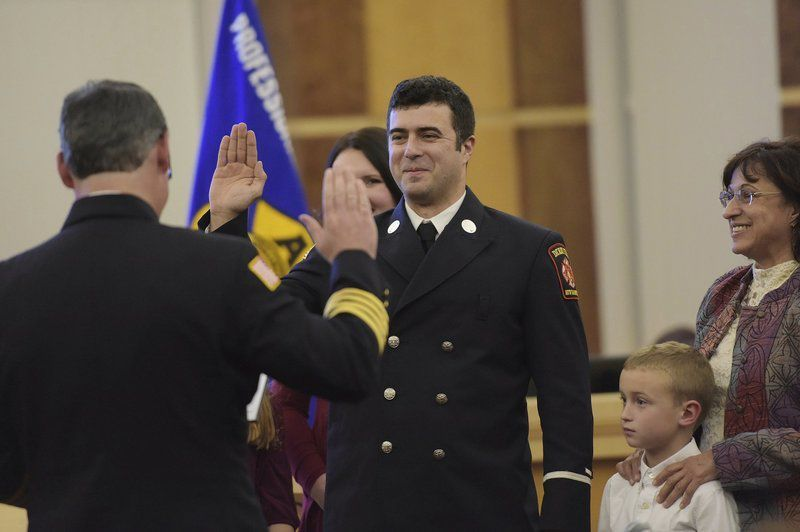 Fire department honors its own