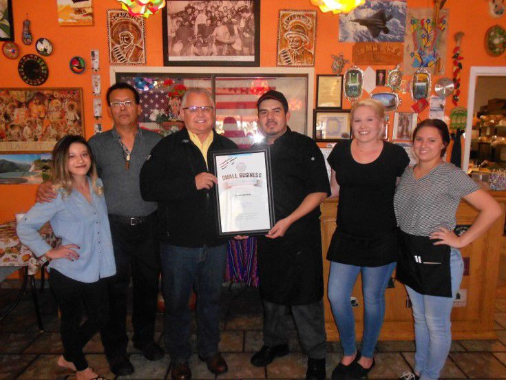 20 Mules Caf in Boron Recognized as Small Business of the Month