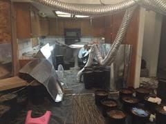 Police raid Cal City Home. Indoor marijuana operation. Home had major damage from growing marijuana