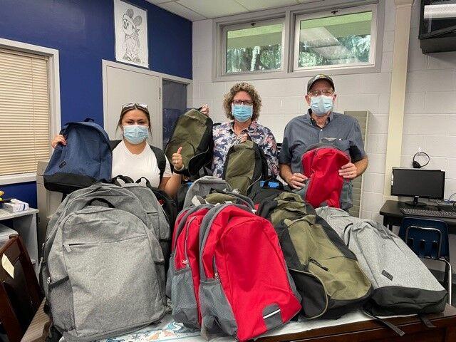 Bank of the Sierra employees prepare backpacks for local schools_2.jpg
