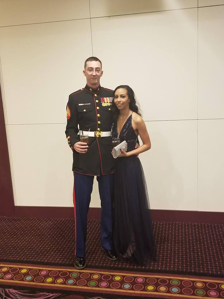 The Marine and the Princess Local high school grads success story
