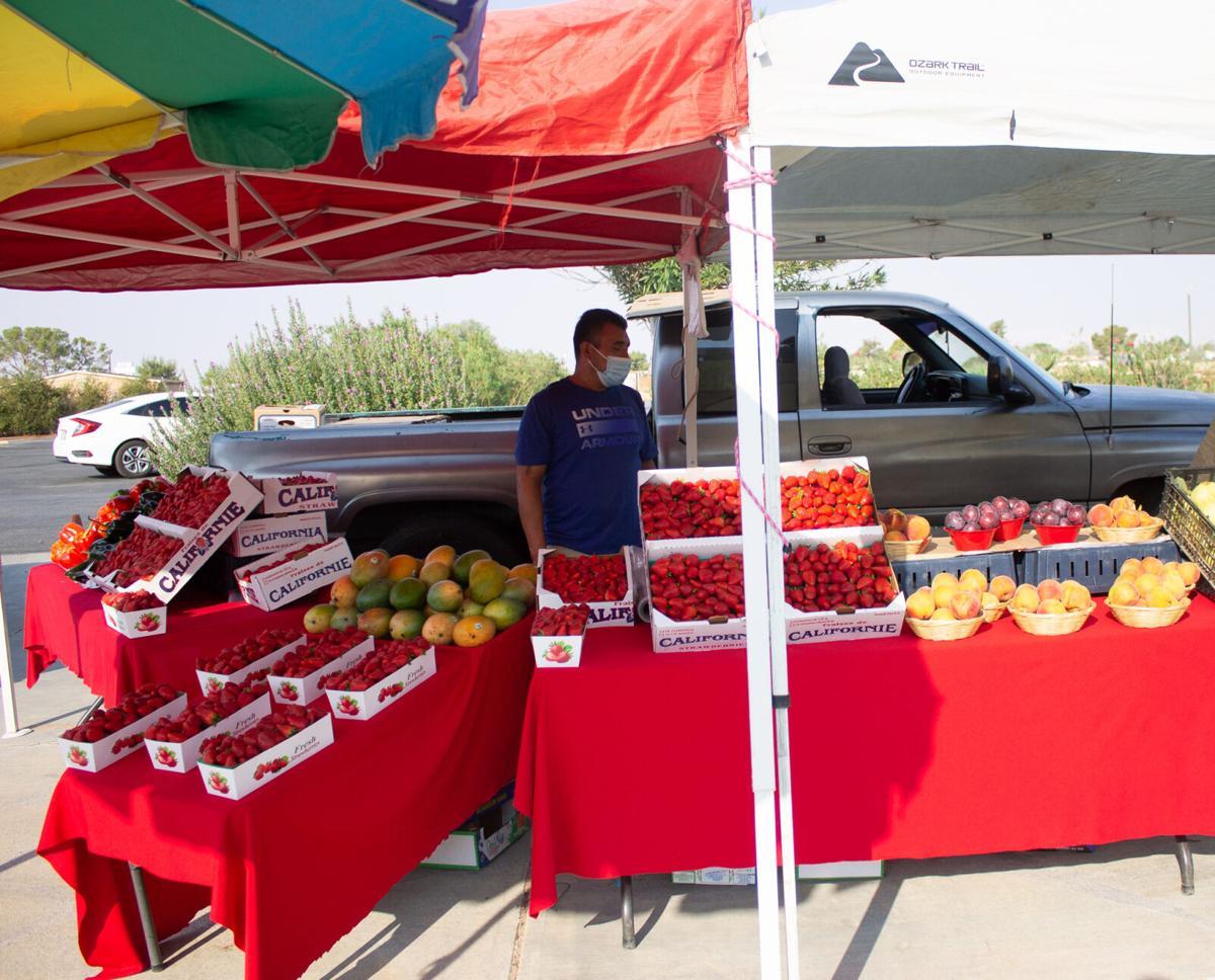 Cal City hosts first certified Farmer's Market