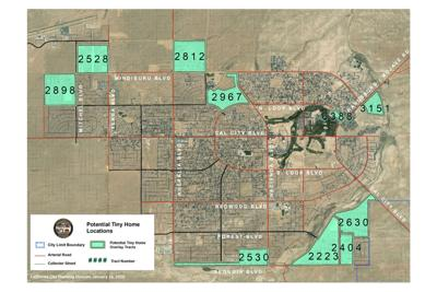 Possible Tiny Home tracts