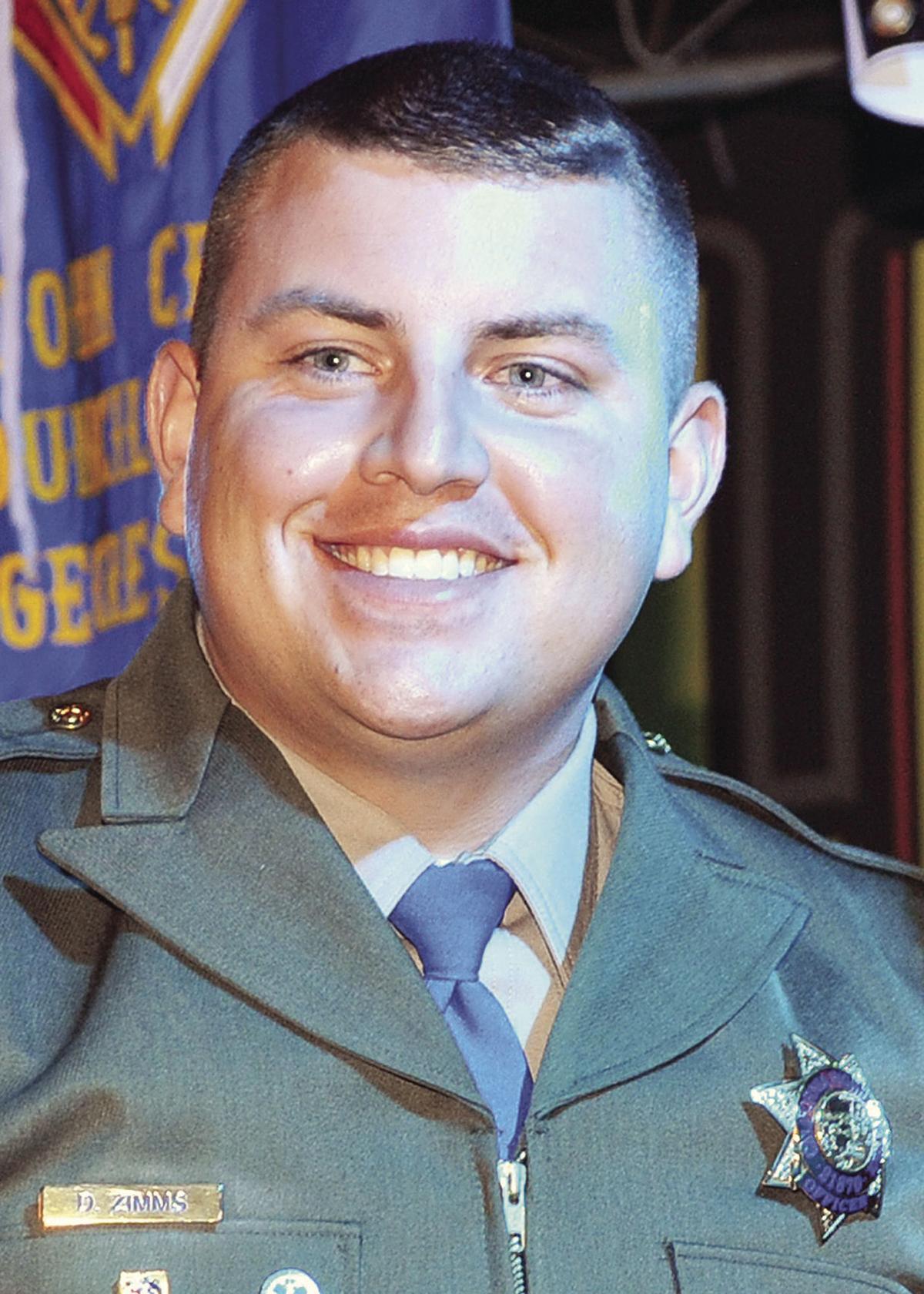 California Highway Patrol Officer Daniel Zimms
