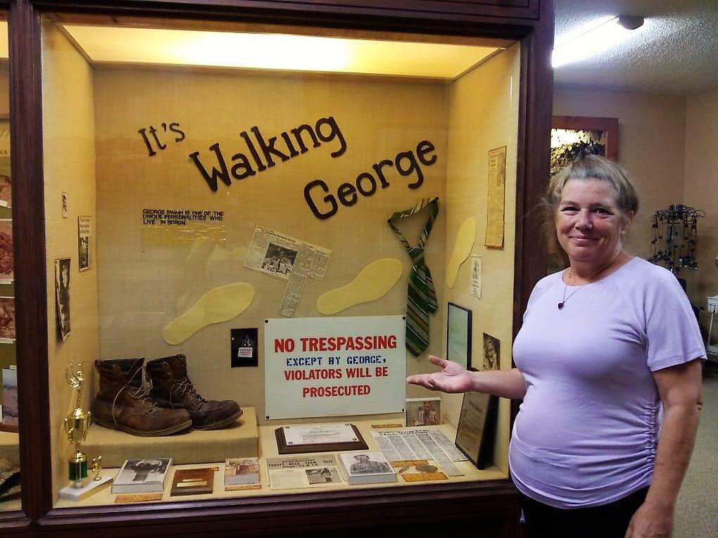 Walking George Swain