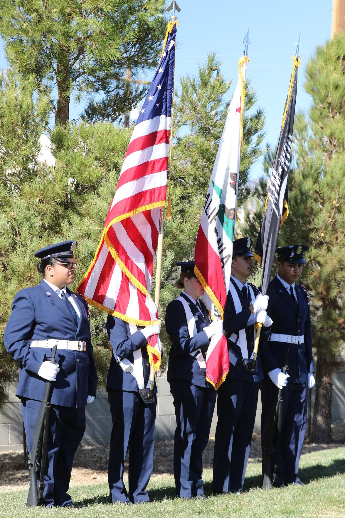 Mojave Veterans Day ceremony 11-12-18