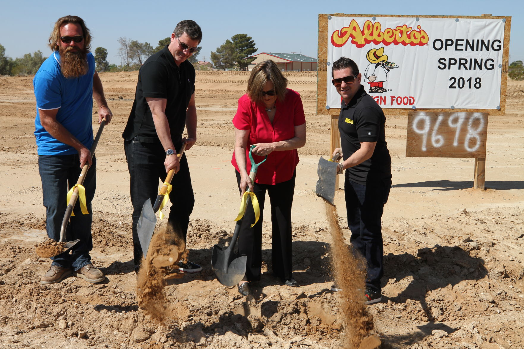 Albertos finally breaks ground after two-year wait