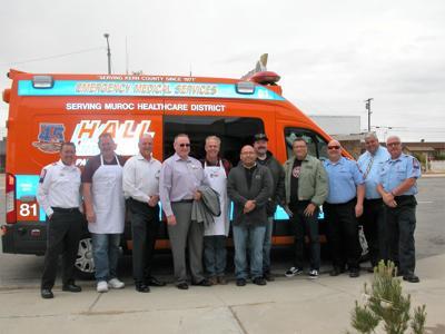 Hall Ambulance 11th Annual Boron Seniors Center barbecue