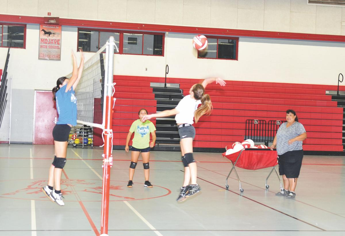Mojave Mustangs volleyball 1