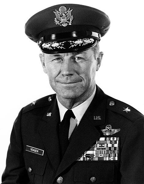Brigadier General Chuck Yeager.