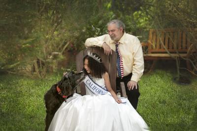 Little Miss California Queen Vivianna Fox