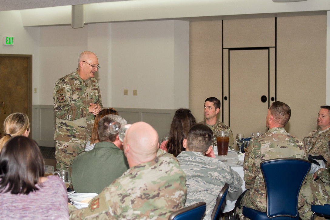 Gen. Arnold Bunch 412th Test Wing