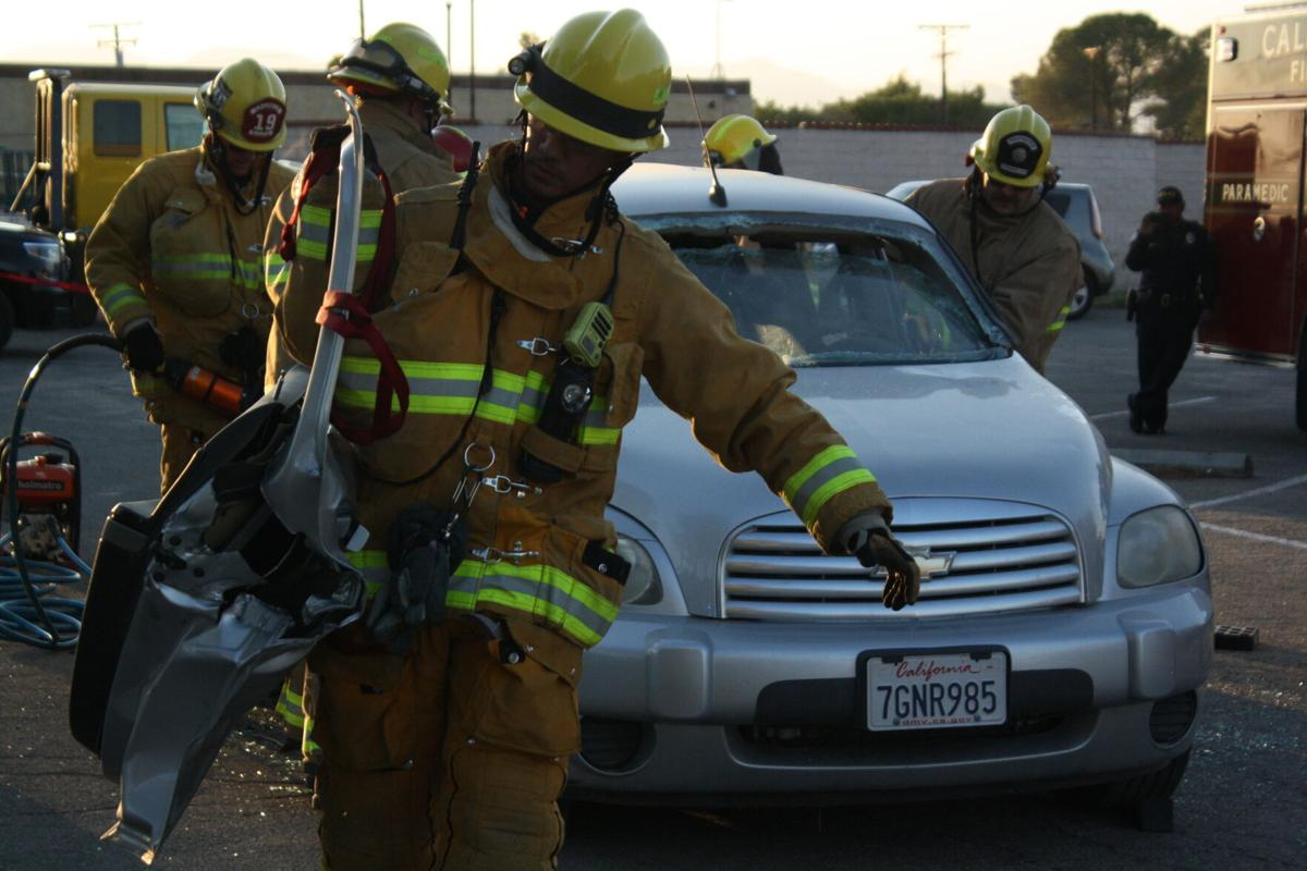 California City National Night Out: Firefighters