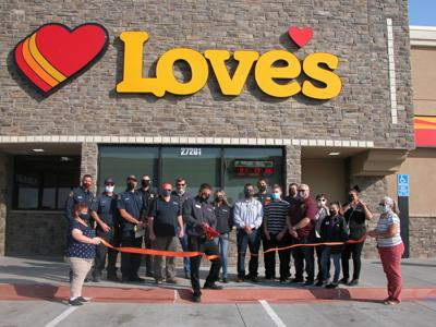 Boron Love's Travel Center Grand Opening and Ribbon Cutting