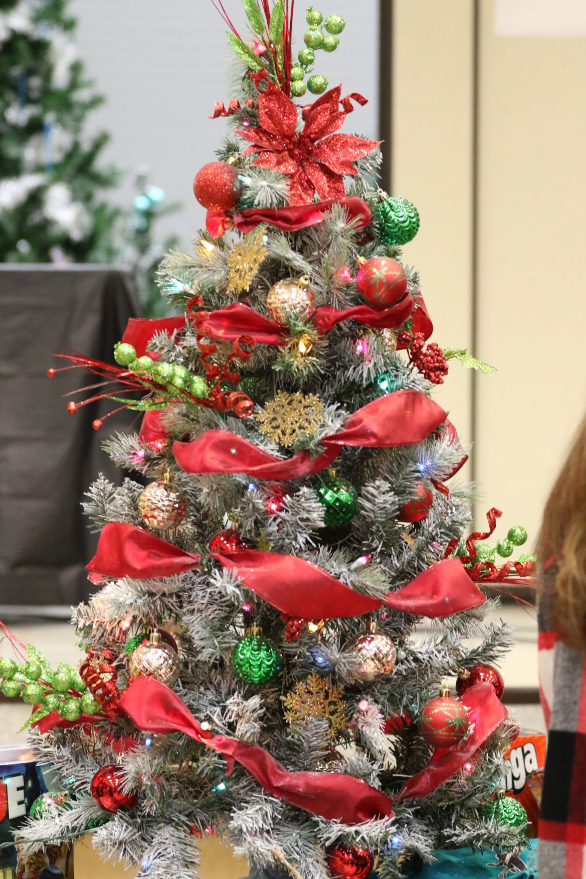 Scenes from Hacienda Elementary 2018 Christmas Tree Raffle 12-7-18