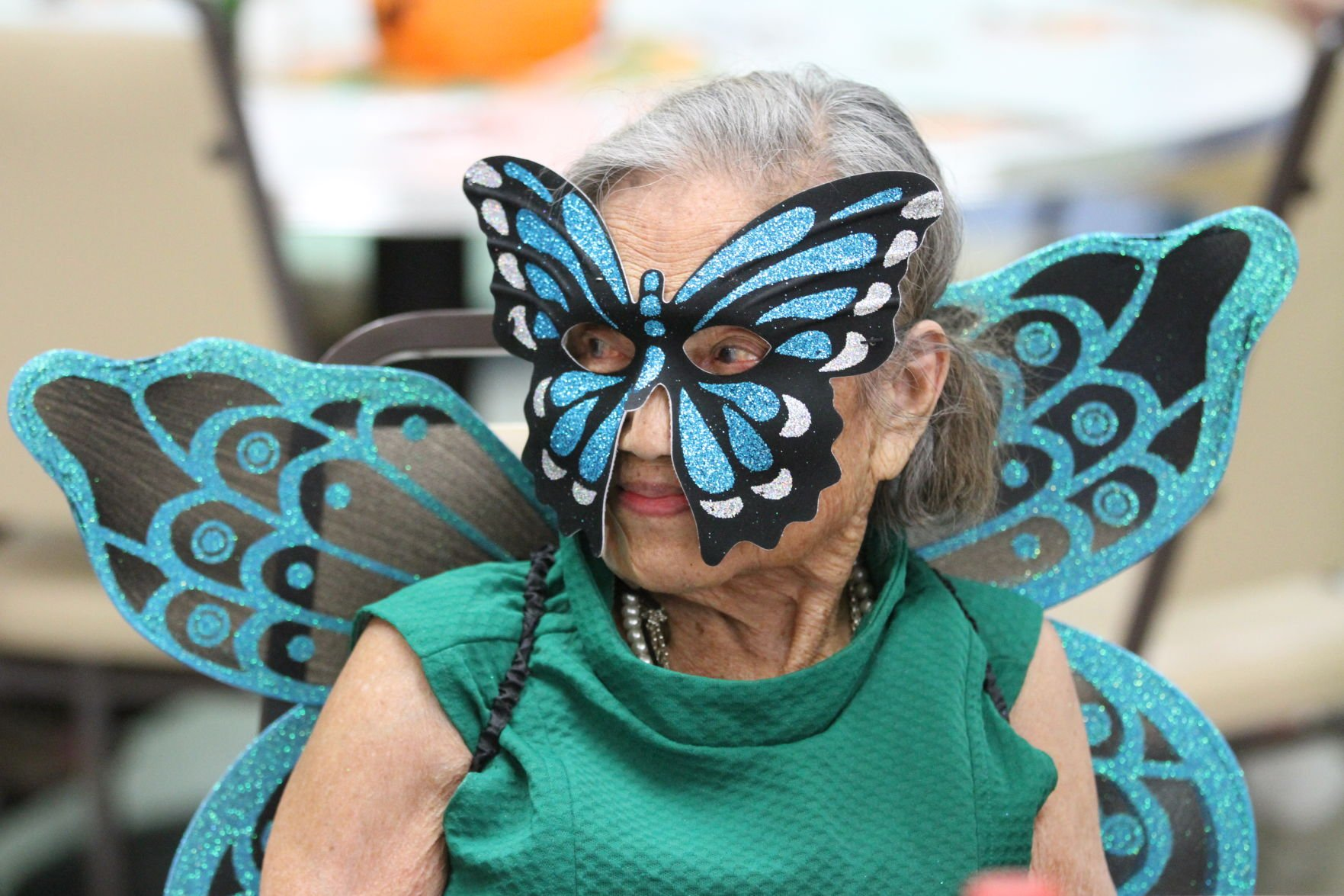 Cal City Seniors take time out for Halloween Fun