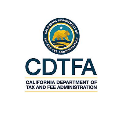 California Department of Tax and Fee Administration ...