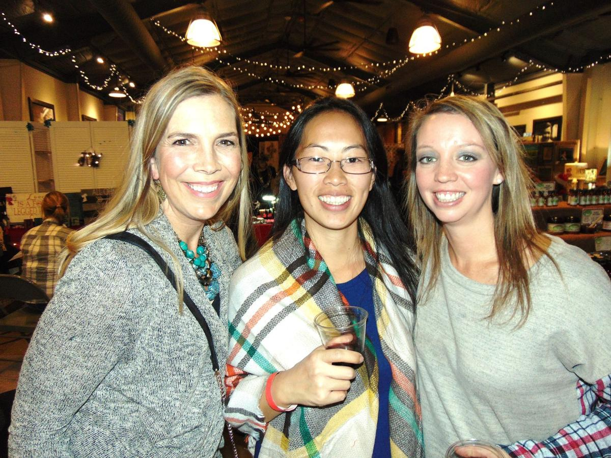 Laurie Waring, Sheng Bergeron & Stephanie Williams