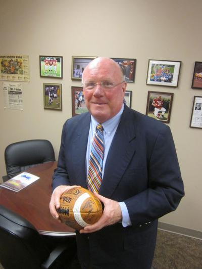 Pete Hurt, new Olive Branch football coach
