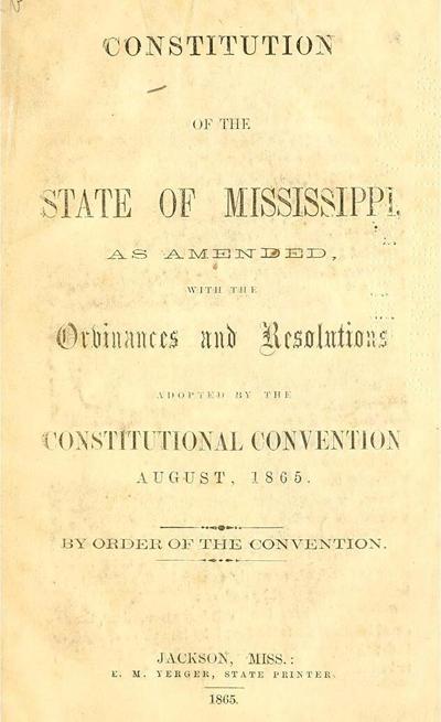 MS Constitution