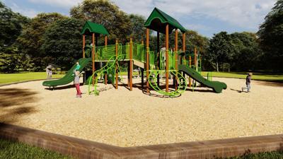 Central Park playground upgrade