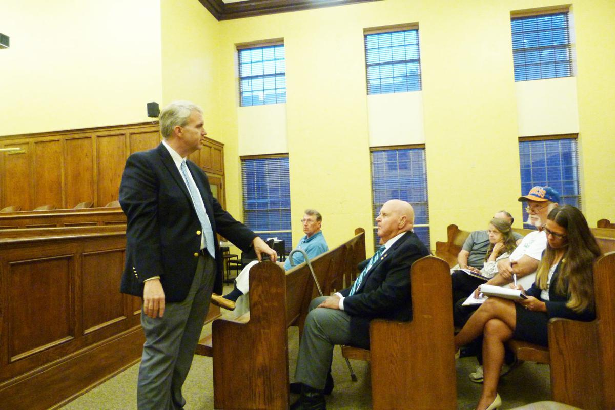 Brandon Presley town hall meeting