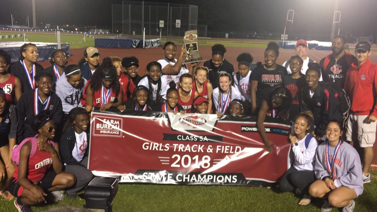 Center Hill state track champions (copy)
