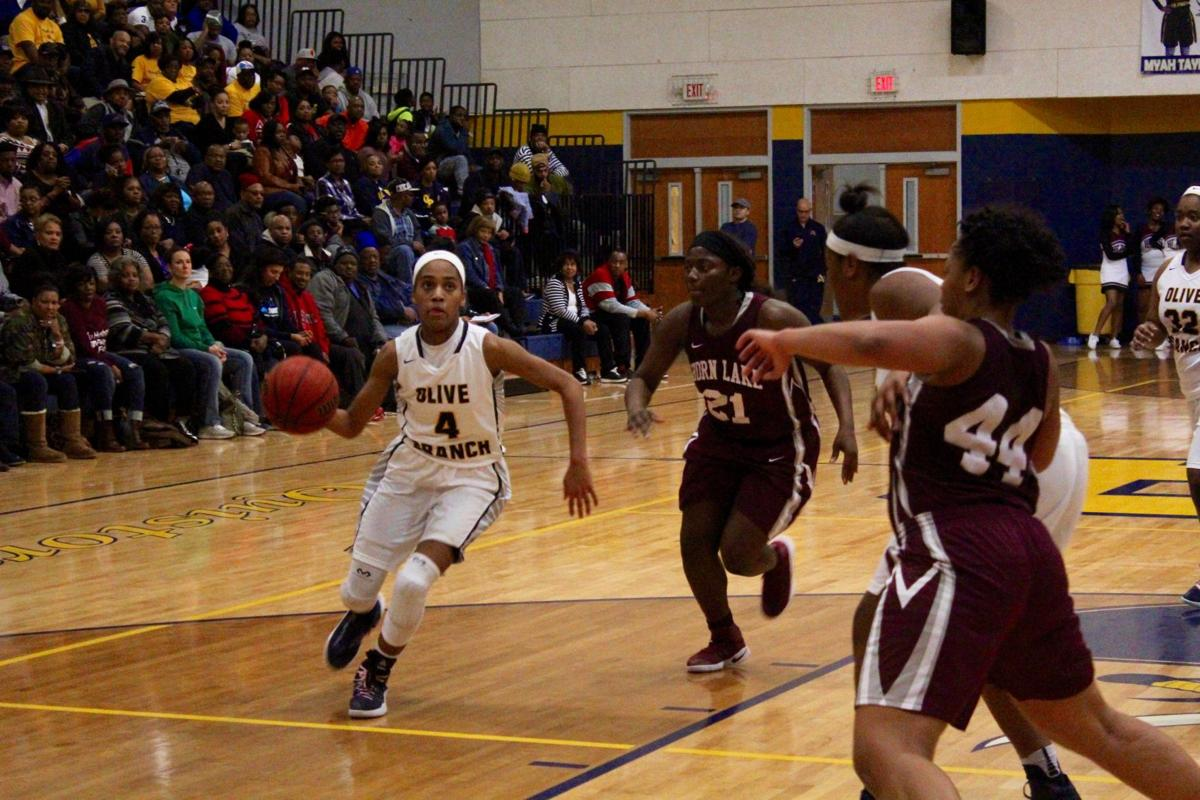 Mahogany Vaught drives for Olive Branch (copy)