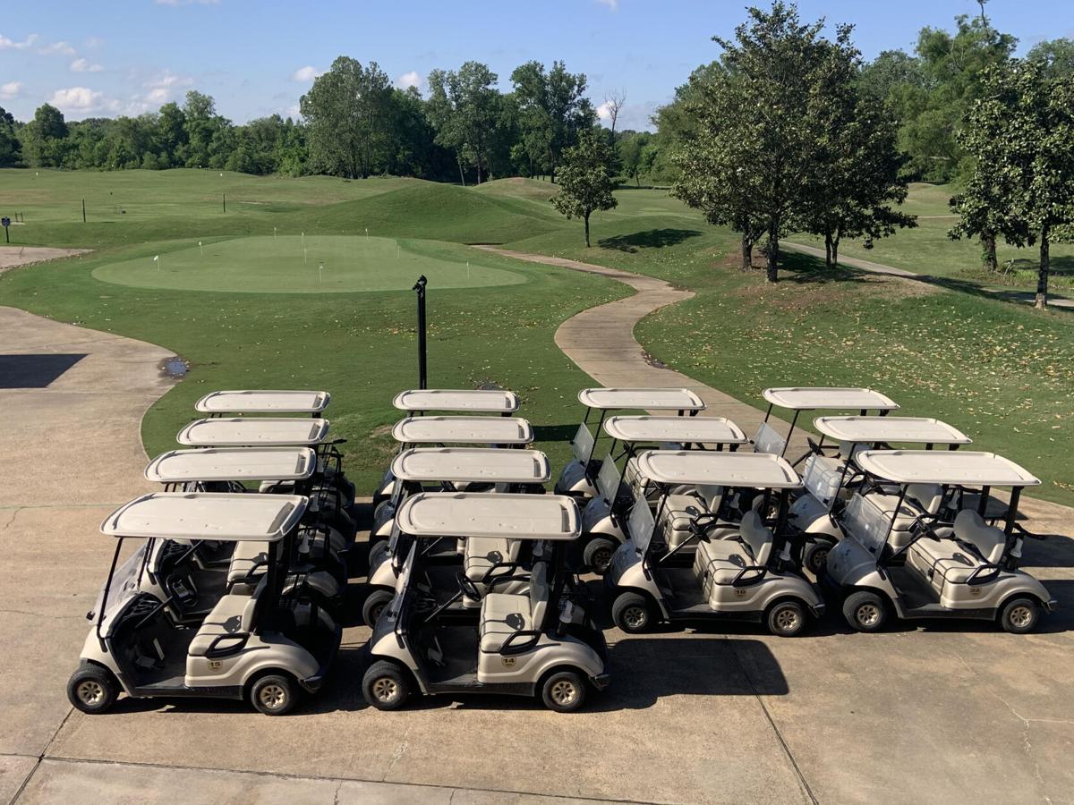 North Creek Golf Club carts