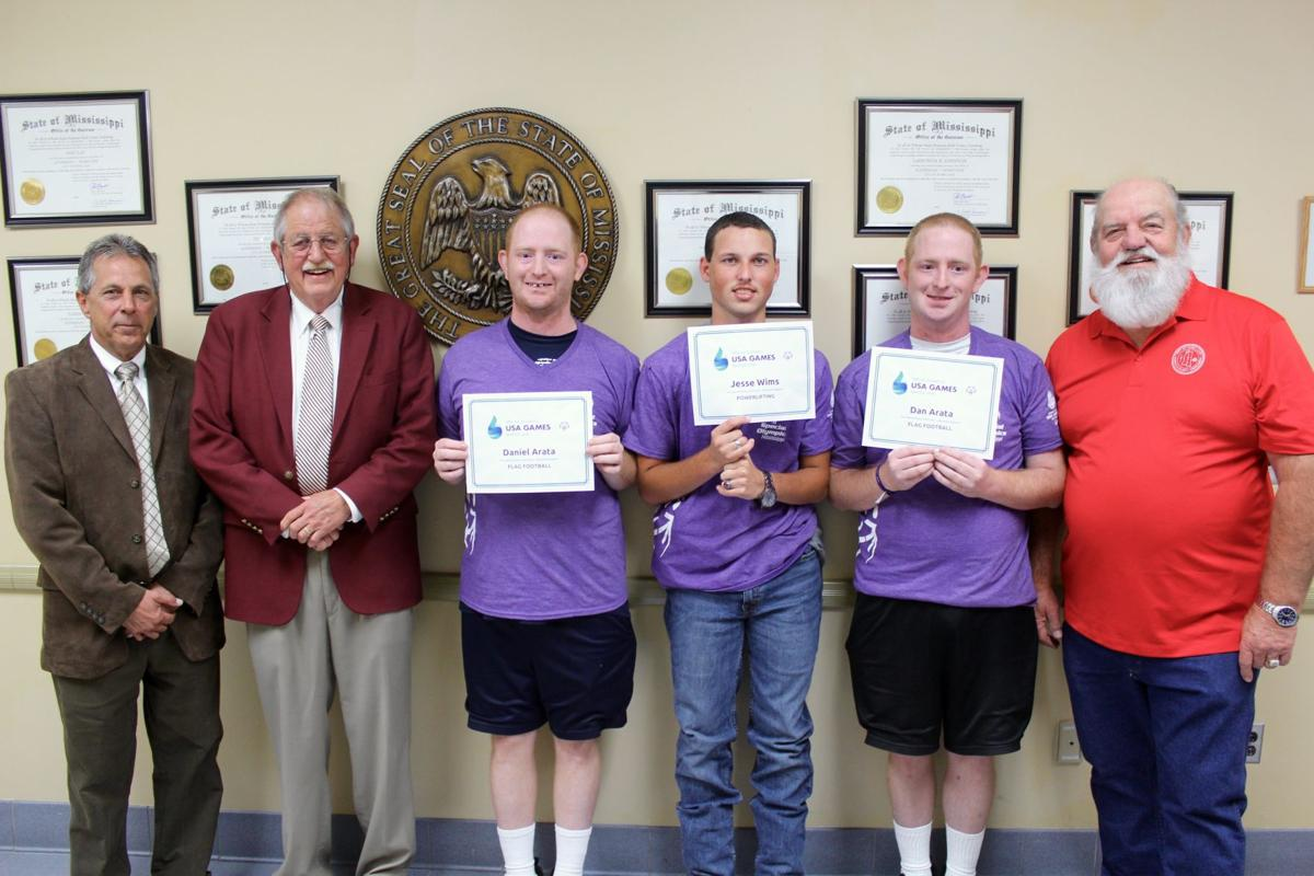 National Special Olympics athletes