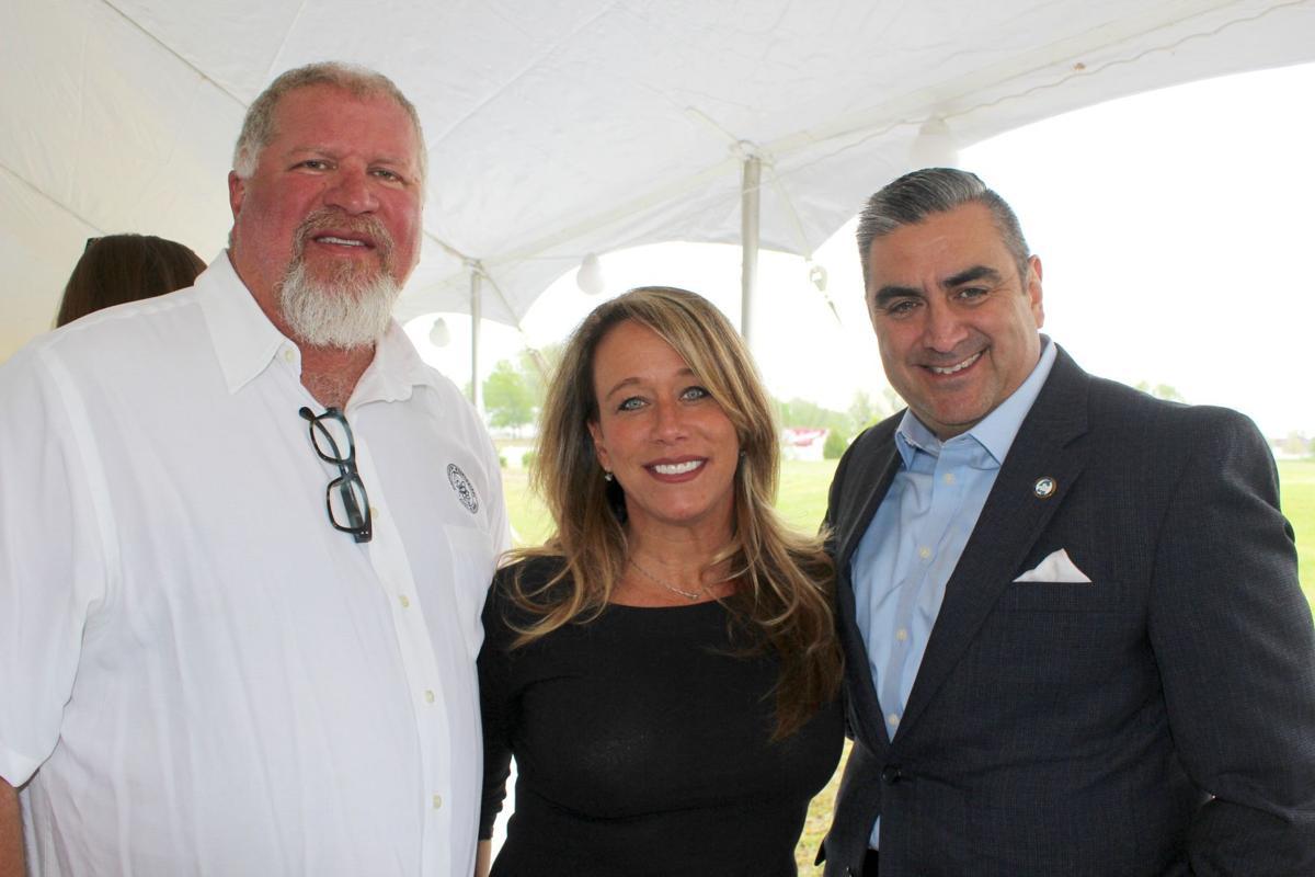 Aldermen John David Wheeler and Raymond Flores with Planning Director Whitney Choat-Cook.jpg