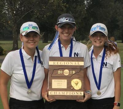 NCS girls win regional golf crown