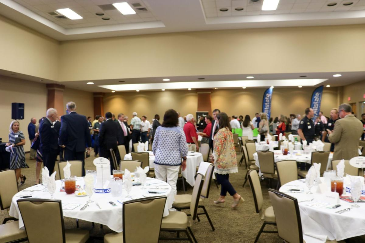 A record crowd was on hand at the Quarterly Luncheon
